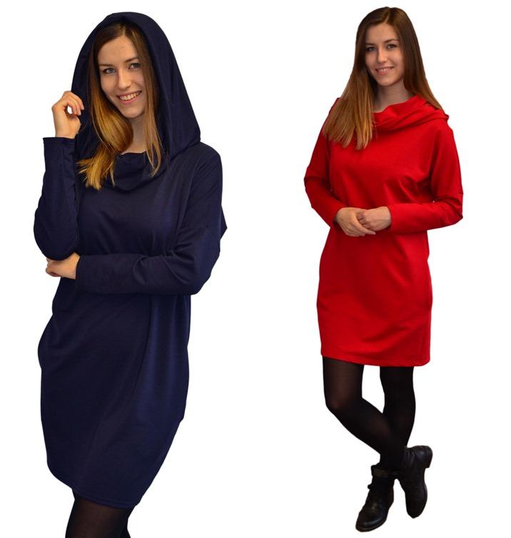 b0ea96cf98 Jomix--Sukienka dresowa z kapturem M 38 PROMOCJA - 7216212771 ...
