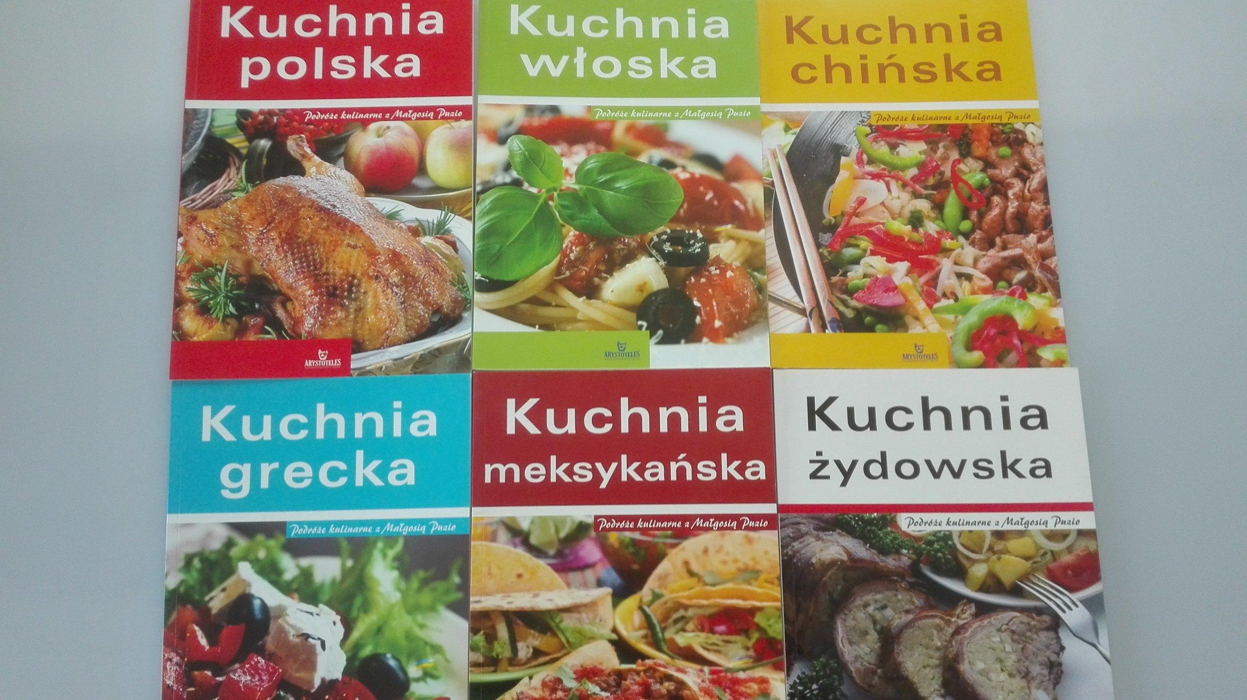 Kuchnie Swiata Polska Wloska Chinska Grecka 6szt 7198964133