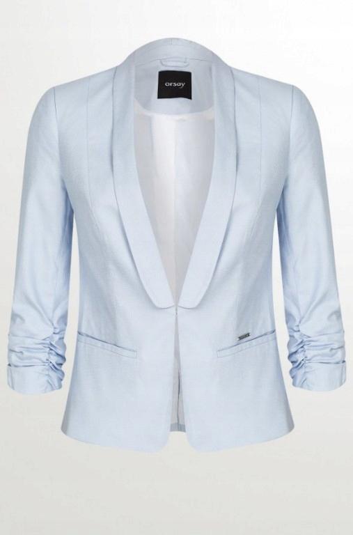 d007ddedd3f71 Orsay żakiet marynarka błękitna niebieska baby - 7748610859 ...