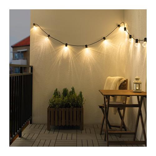 Ikea Svartra Oświetlenie Led Do Ogrodu 12 Diod 7254519685
