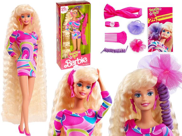 Barbie Lalka Lata 90 Do Czesania Odlotowe Fryzury