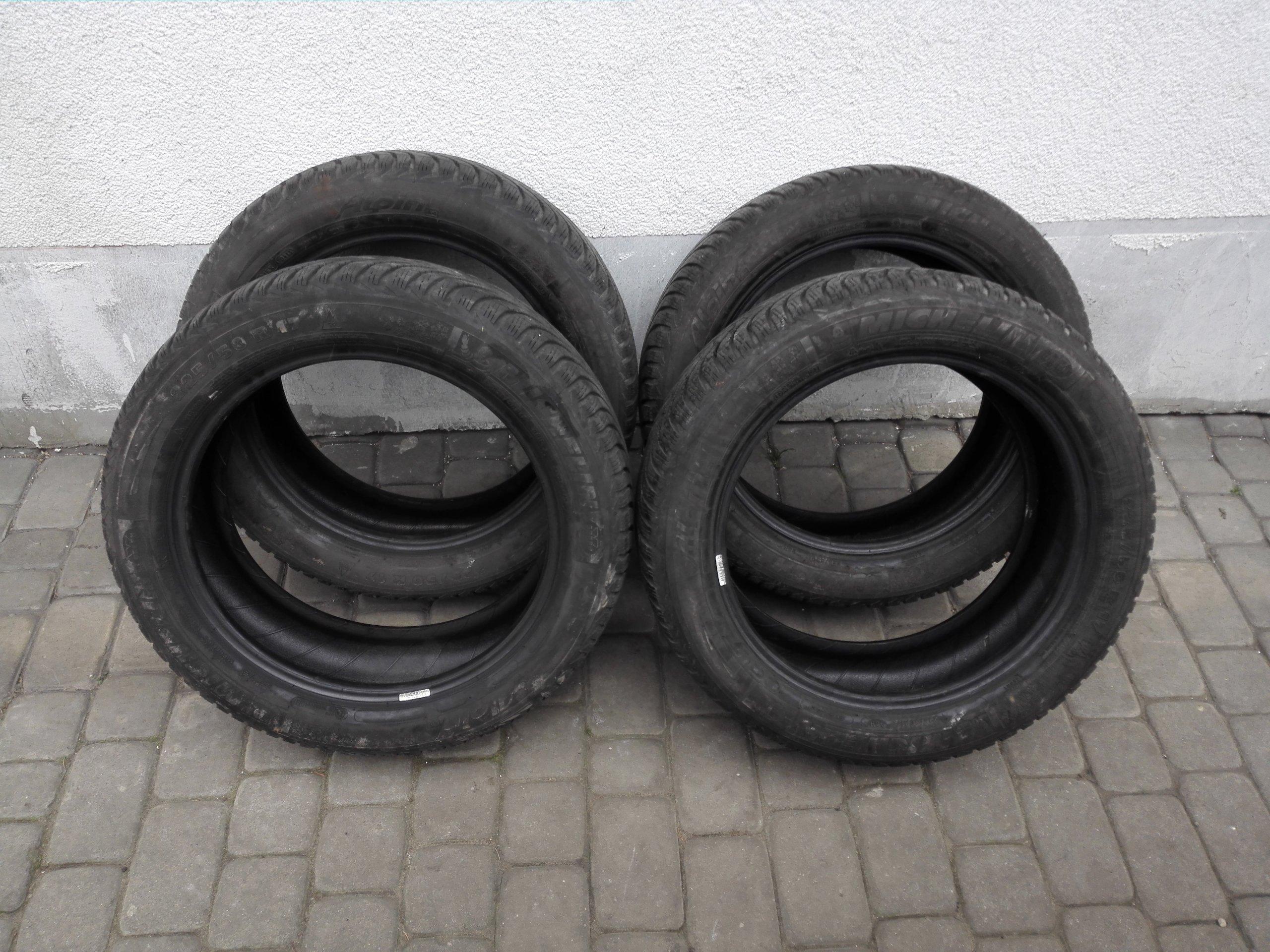Opony Zimowe Michelin Alpin 2255017 98h 2013 65 7283430689
