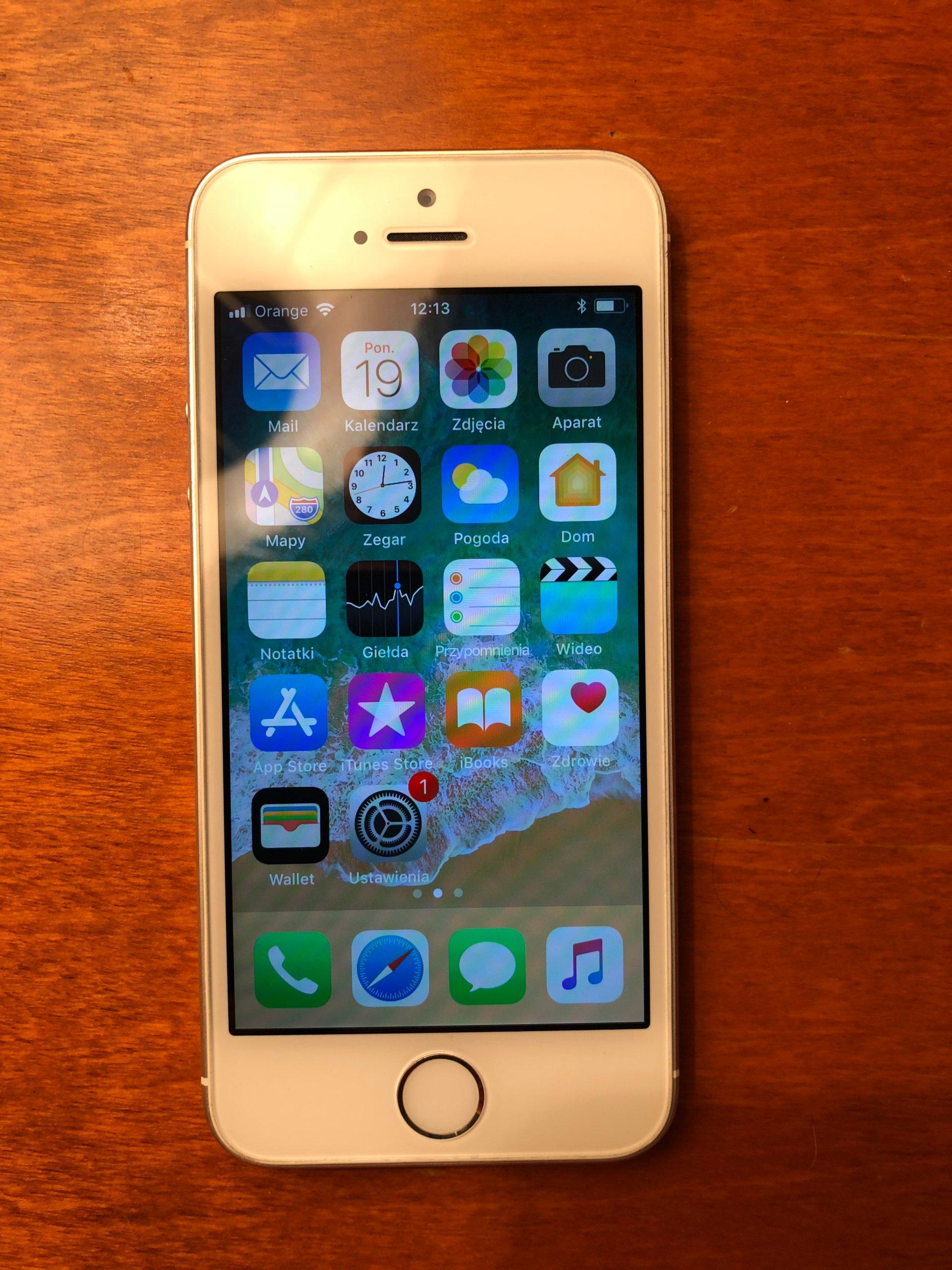 Apple Iphone 5s 32gb Silver I Sza Wacicielka 7247298635 Se