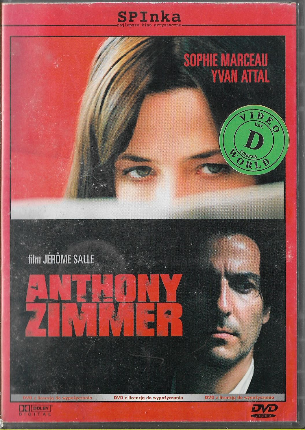 Anthony Zimmer / S.Marceau DVD