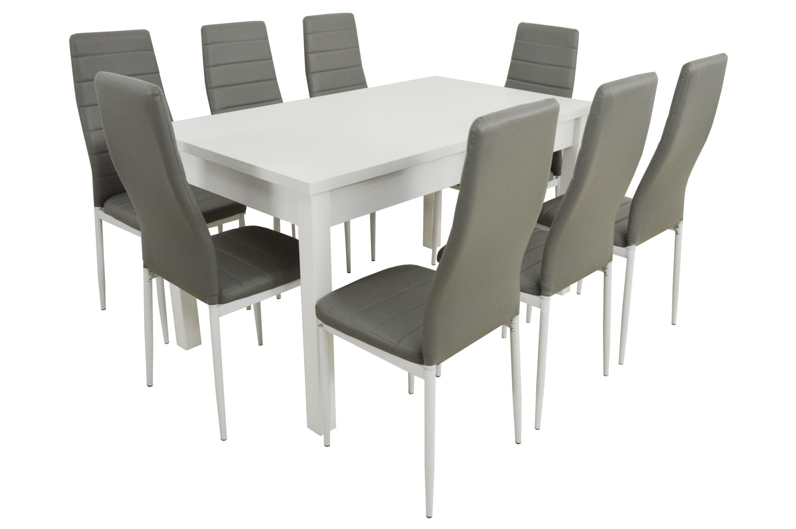 Krzesła Stół Składany Do Kuchni Jadalni 80x140180