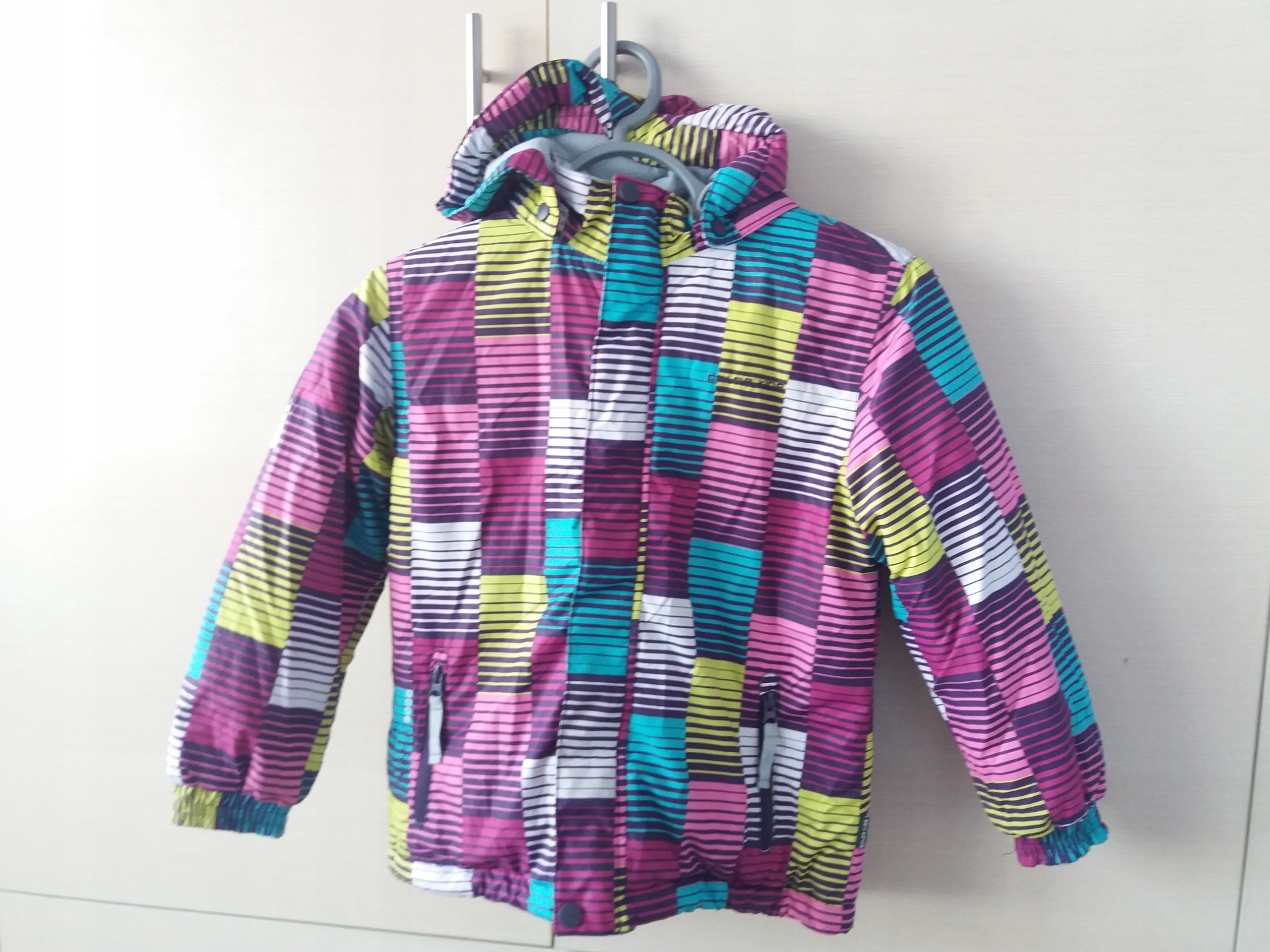 c42a701df44d Kurtka narciarska color kids 116-122 Intersport - 7684064855 ...