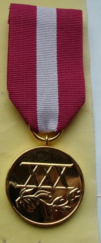 MEDAL Za Długoletnią Służbę zł III RP