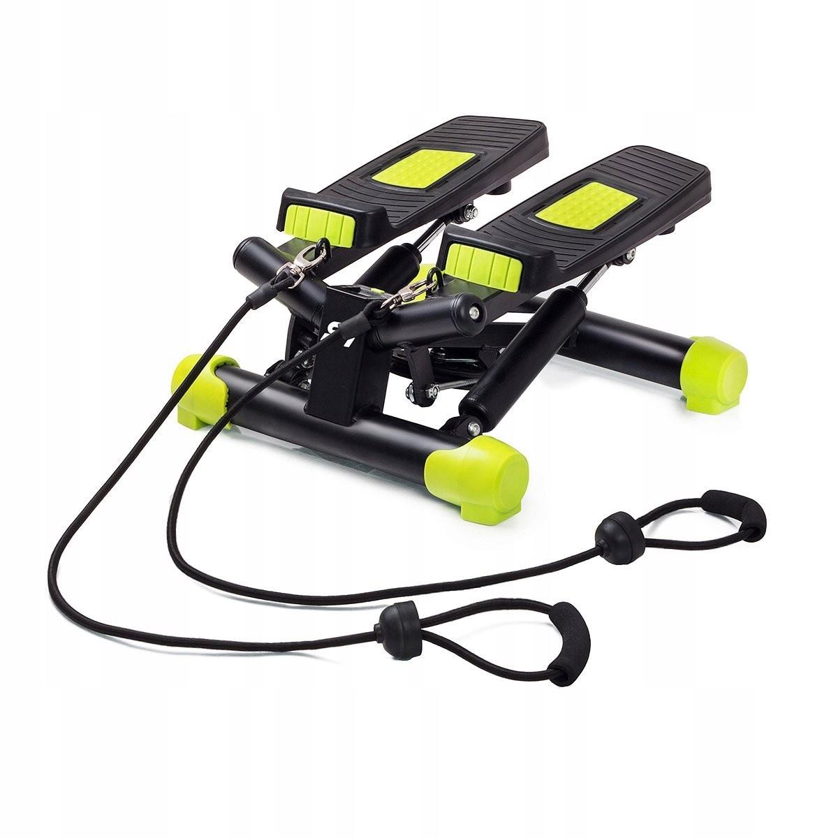 Fitkraft Stepper Swing z gumą treningową