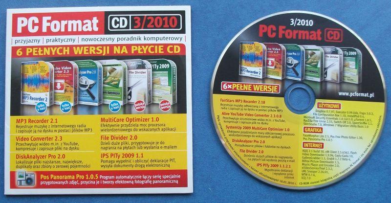 PC FORMAT - 3/2010 - SKOPIUJ FILMY Z YOUTUBE - 7215860504