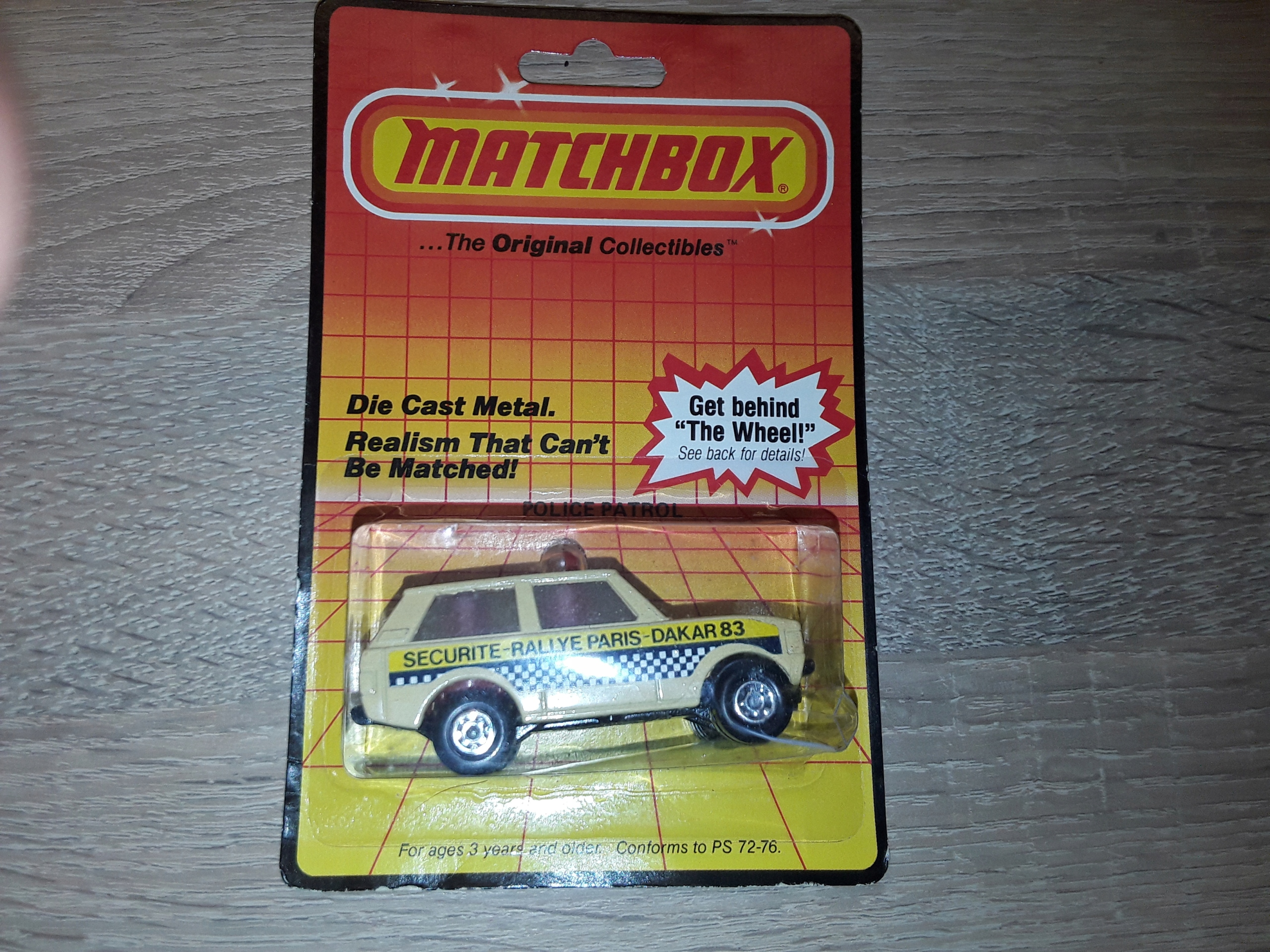 LAND ROVER - MATCHBOX MADE IN ENGLAND