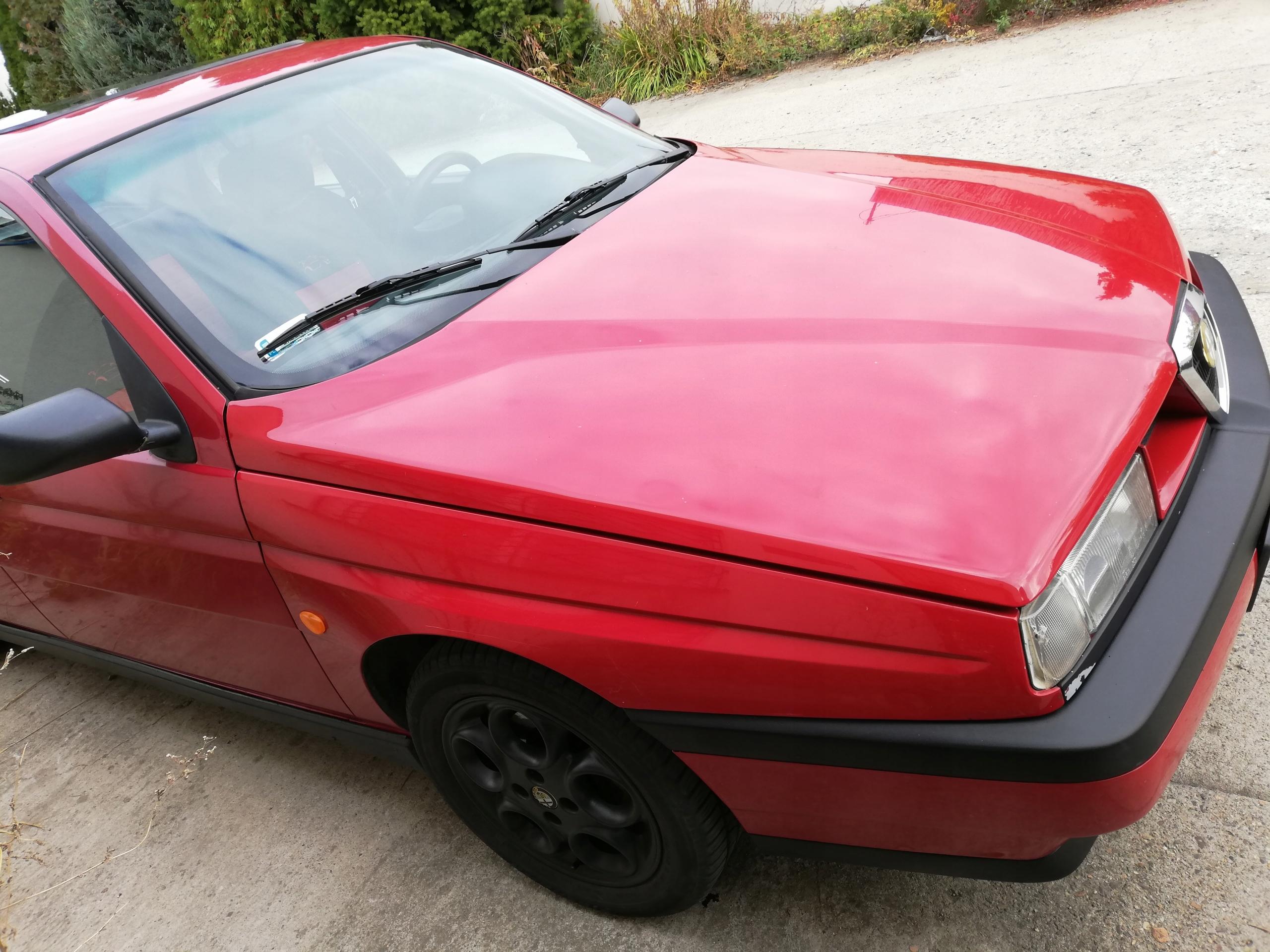 Alfa Romeo 155, możliwa zamiana na moto