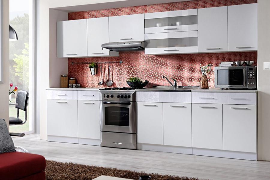 Kuchnia Tina 320 Meble Kuchenne Biały Połysk Hit