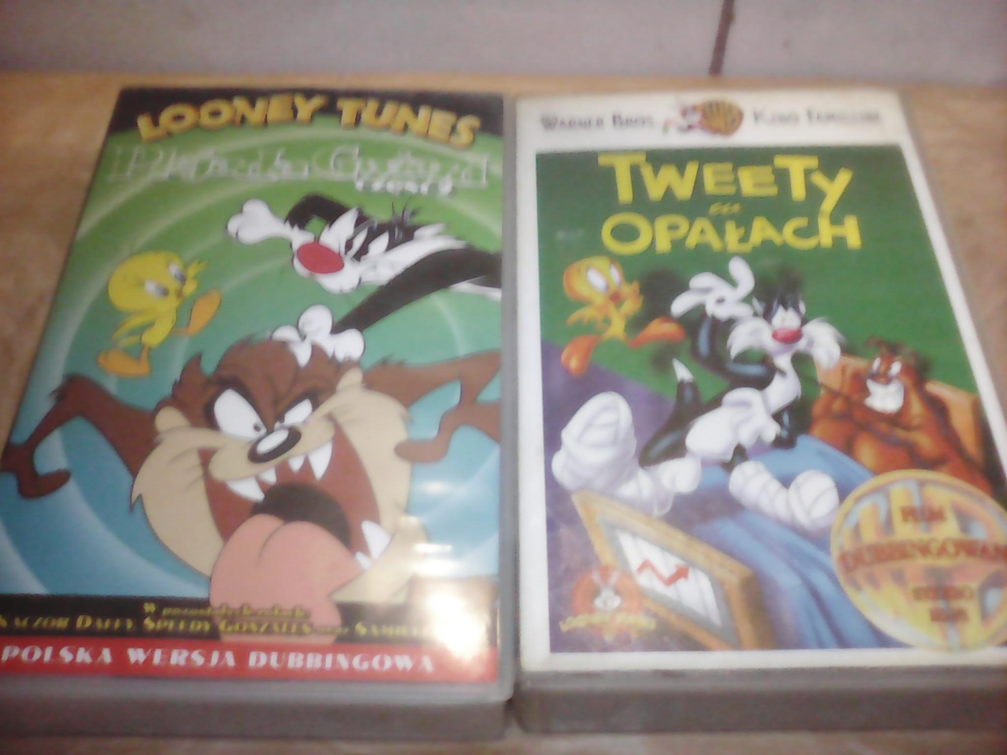 Looney Tunes Tweety W Opałach Bajki Na Vhs 7147832709