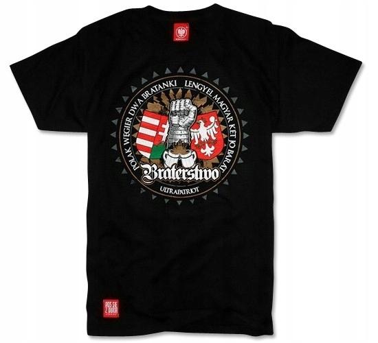 8c15acab8 Koszulka ULTRAPATRIOT patriotyczna Polska Węgry XL - 7519380410 ...
