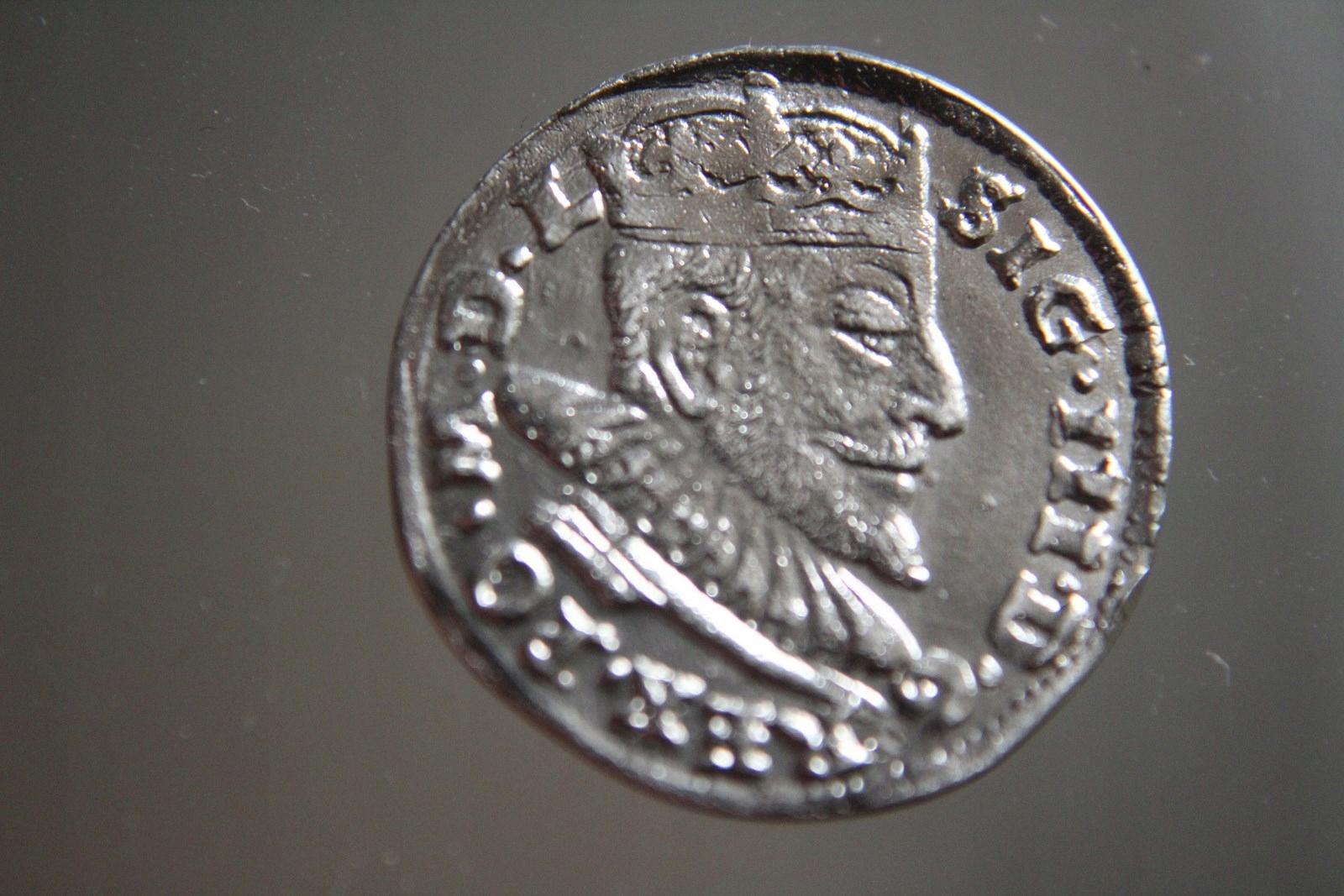 TROJAK ZYGMUNT III WAZA 1592 R.SREBRO -XX0025
