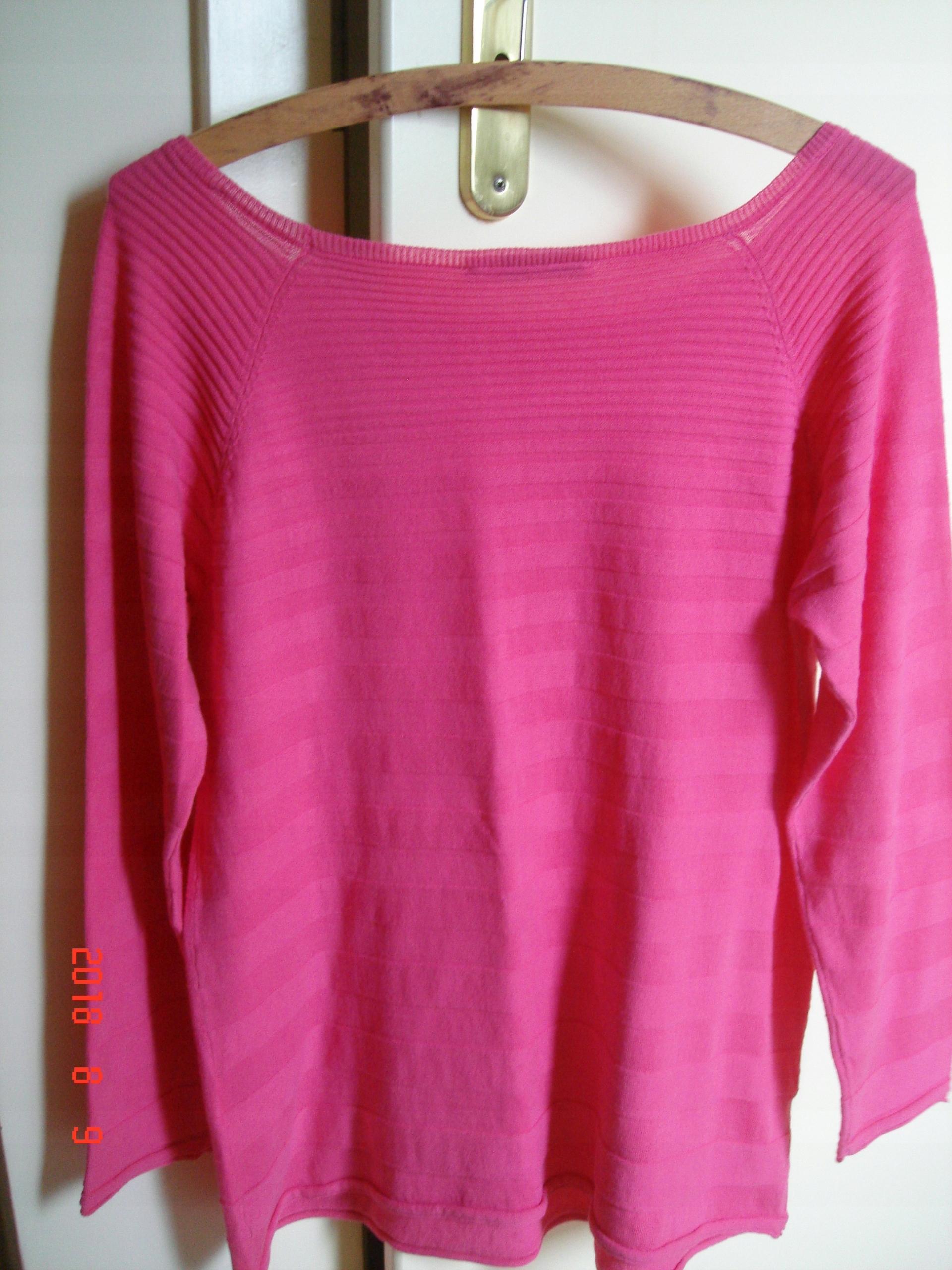 26fbfb081f Taranko- sweterek fuksjowy bawełniany