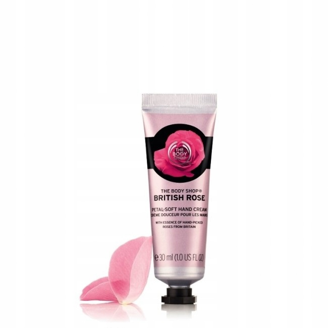 The Body Shop British Rose Hand Cream 30ml UK