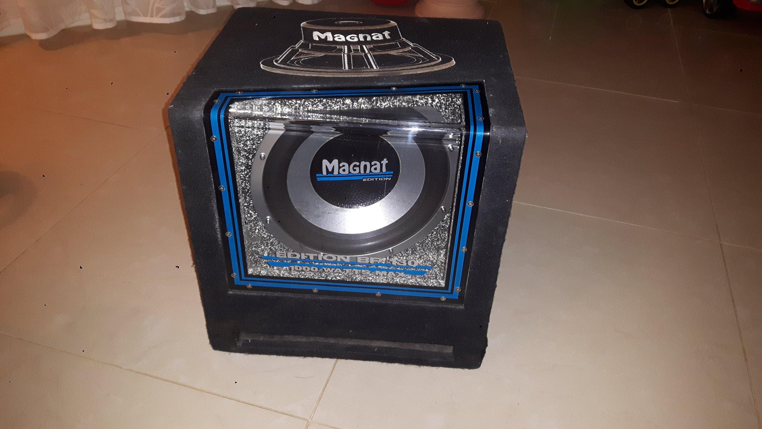 Magnat subwoofer (bp 30 series ii) 2 monate alt forum: car hifi.