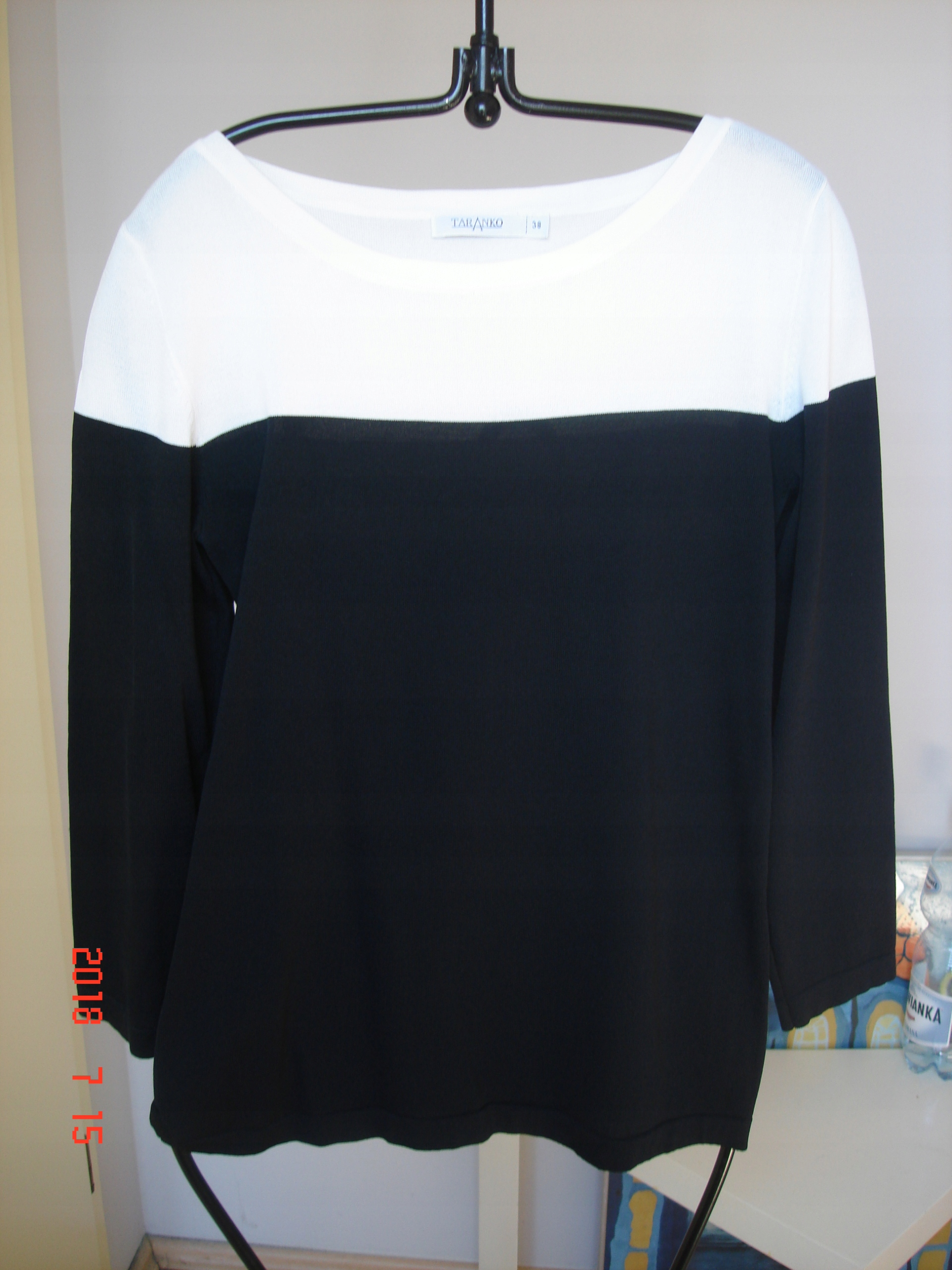 04ce0e58a1 Taranko- bluzka czarno- biała