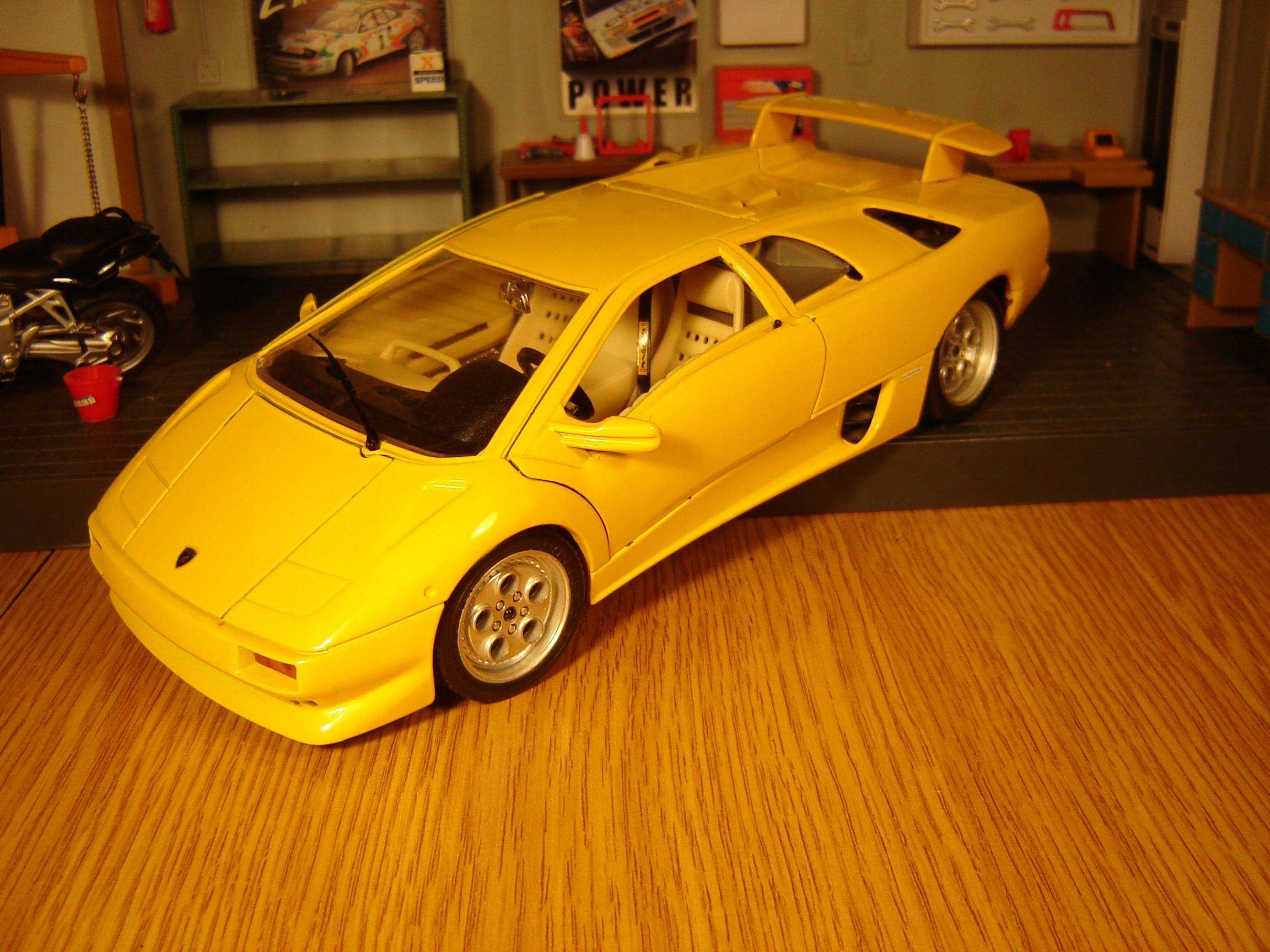 Lamborghini Diablo 1990 Bburago Bez Pudla 7627004634 Oficjalne