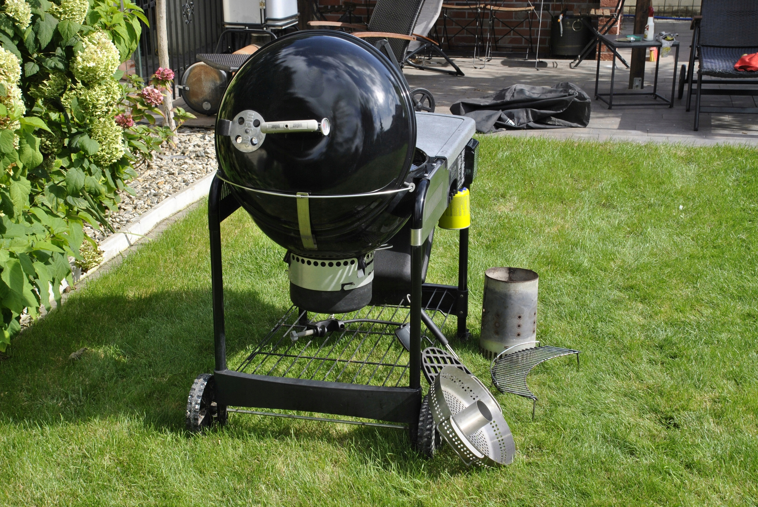 Weber Holzkohlegrill Performer Deluxe Gbs : Weber grill performer deluxe gbs gourmet akcesoria 7545051980