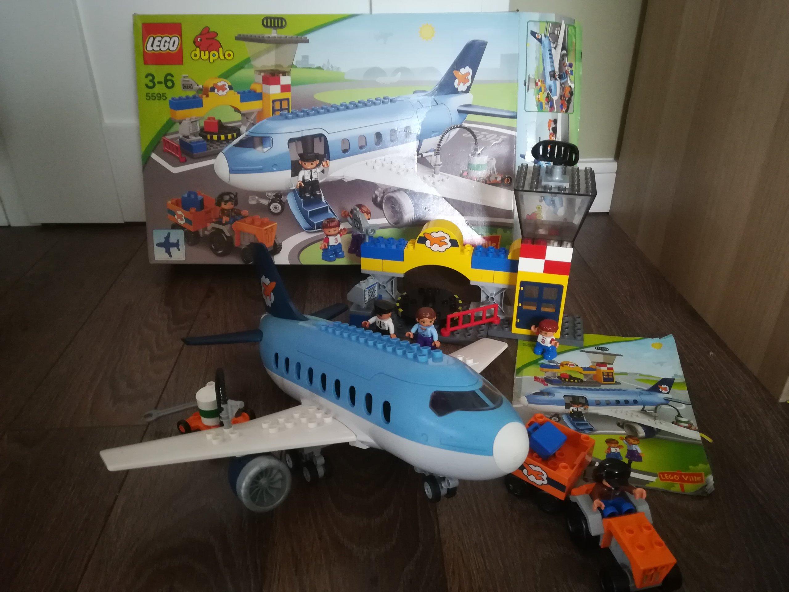 Lego Duplo Lotnisko Samolot Pasażerski 5595 7272587446