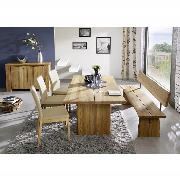 Schsswender Stół Dębowy Z ławką I Krzesłami Ovied 7653800124