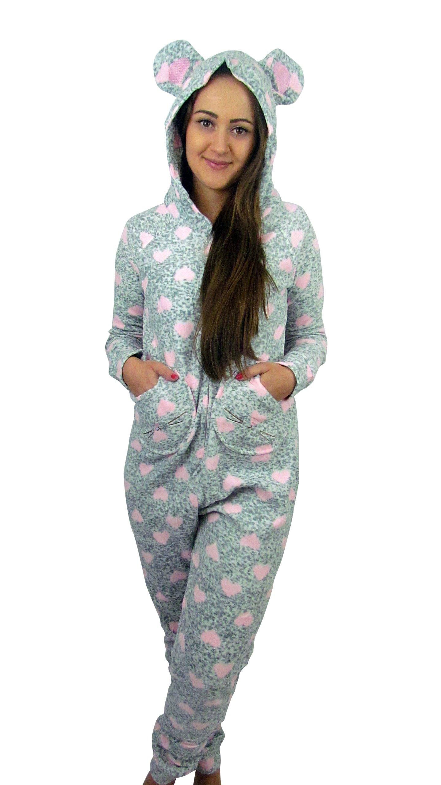 528719b4eacf89 ONESIE-piżama polar KOMBINEZON pajac- miś M-L - 6973161741 ...
