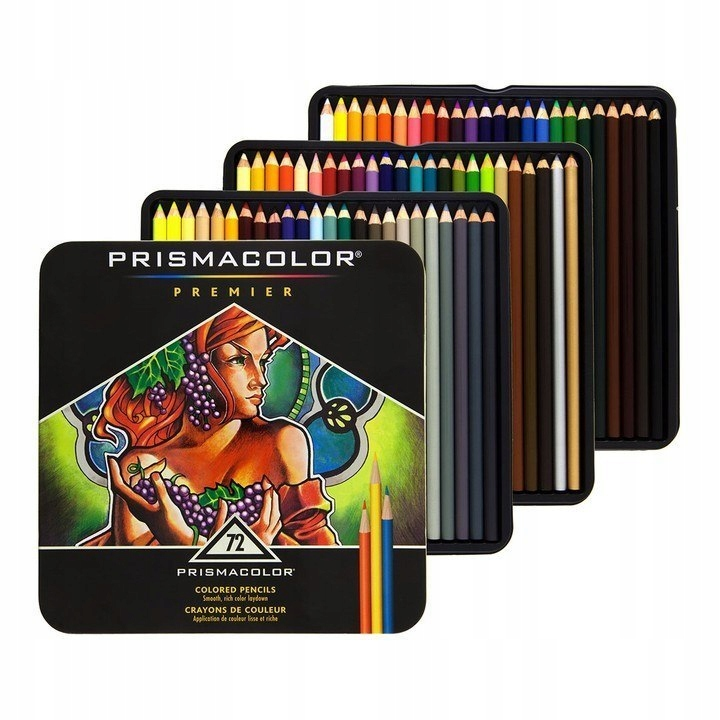 Prismacolor Colored Pencils Kredki Art 72