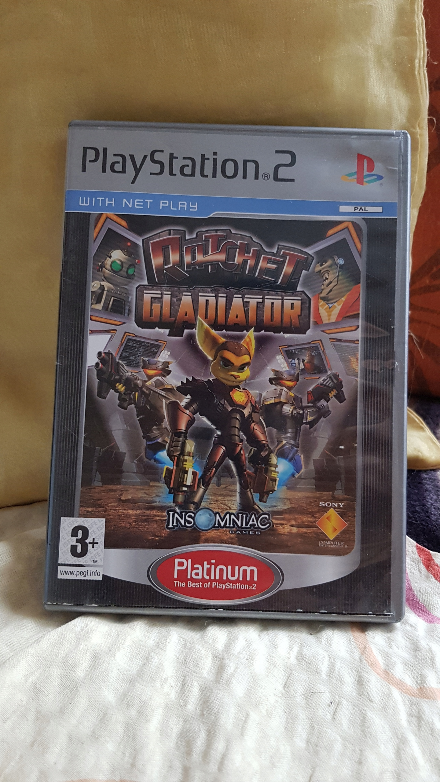 PS2 gra Ratchet Clank Gladiator