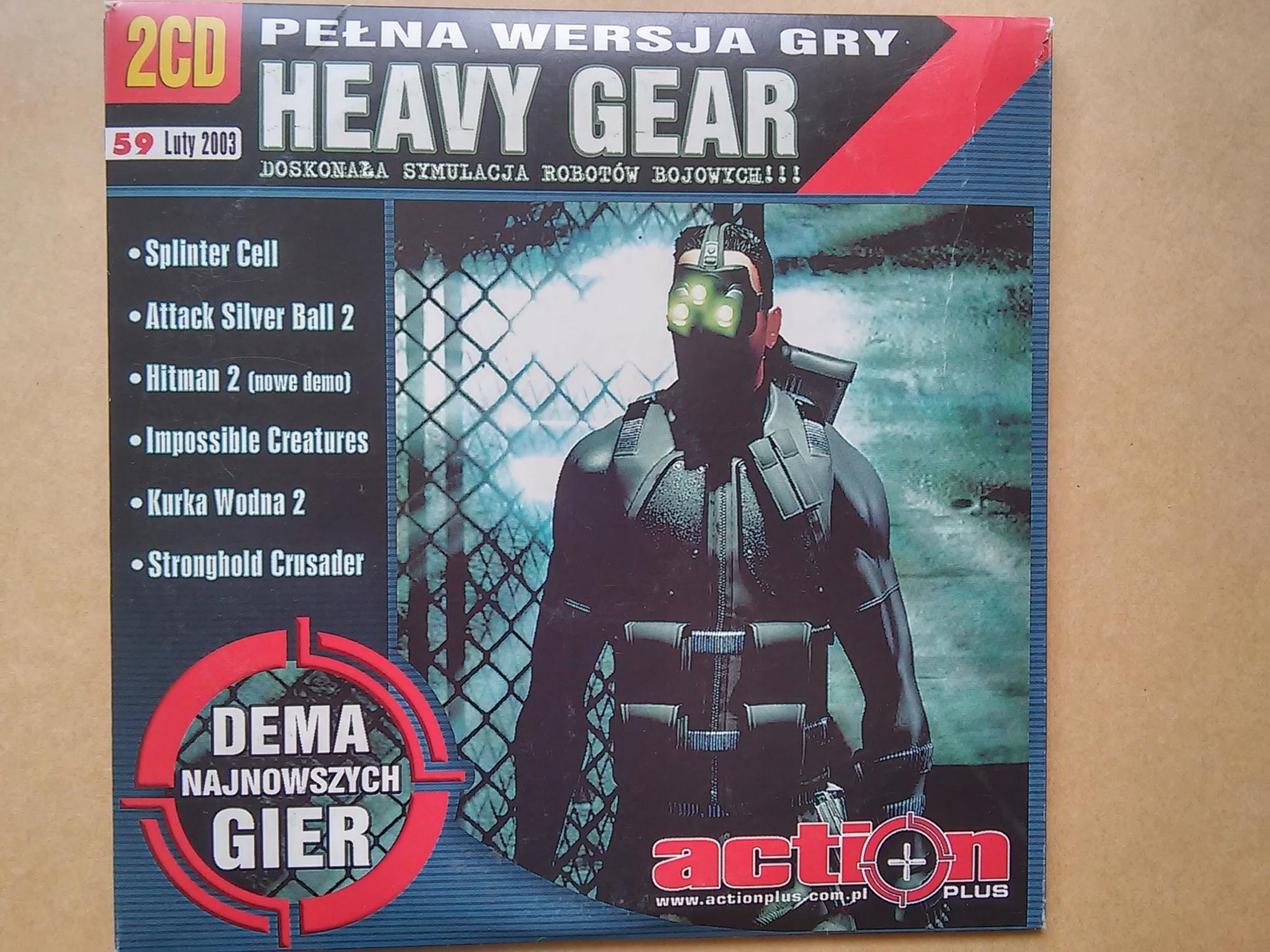 Heavy Gear Action Plus Luty 2003