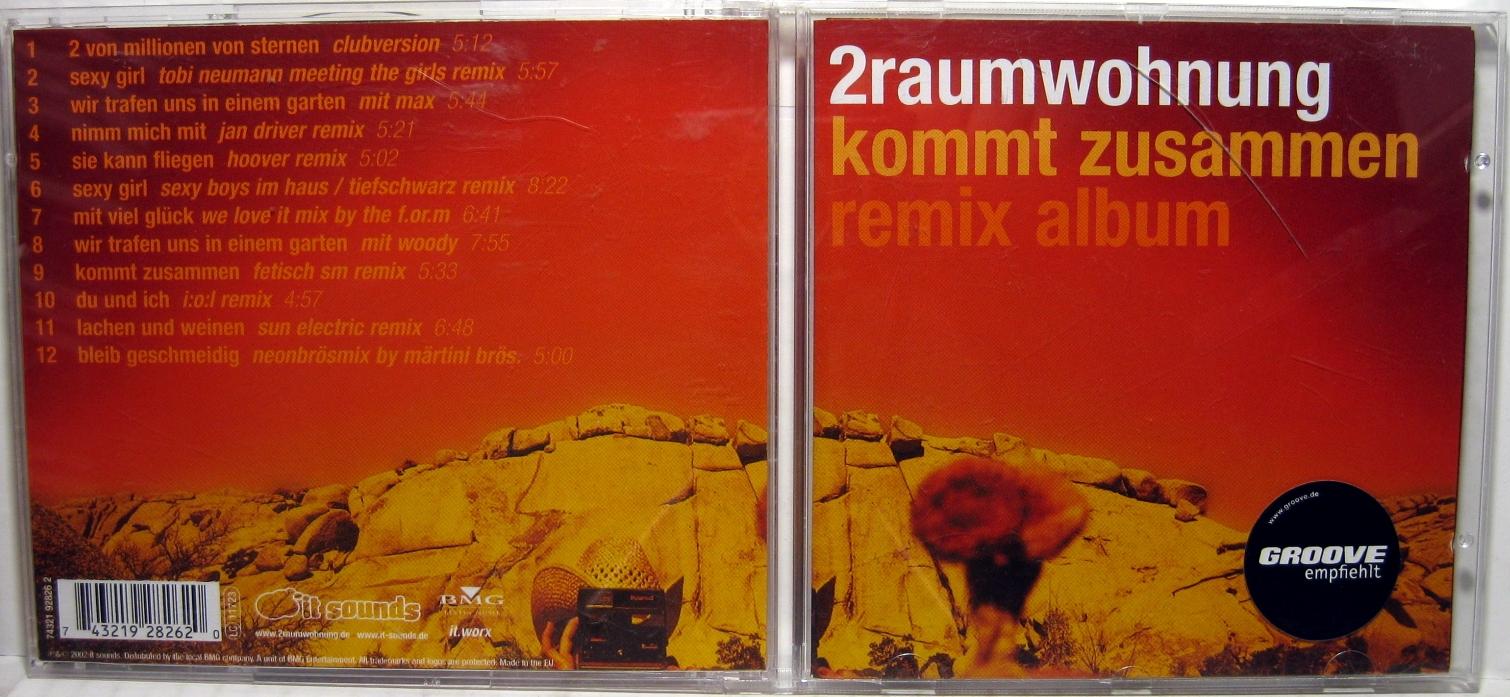 2RAUMWOHNUNG - Kommt Zusammen / Remix Album