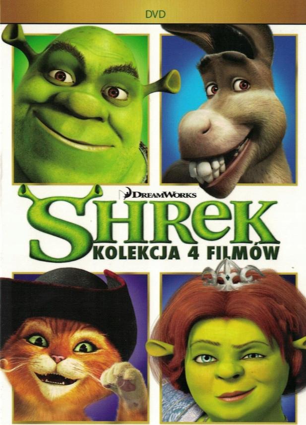 Shrek 1 2 3 4 Cała Historia 4 Filmy 4xdvd Wys24h 7407726435