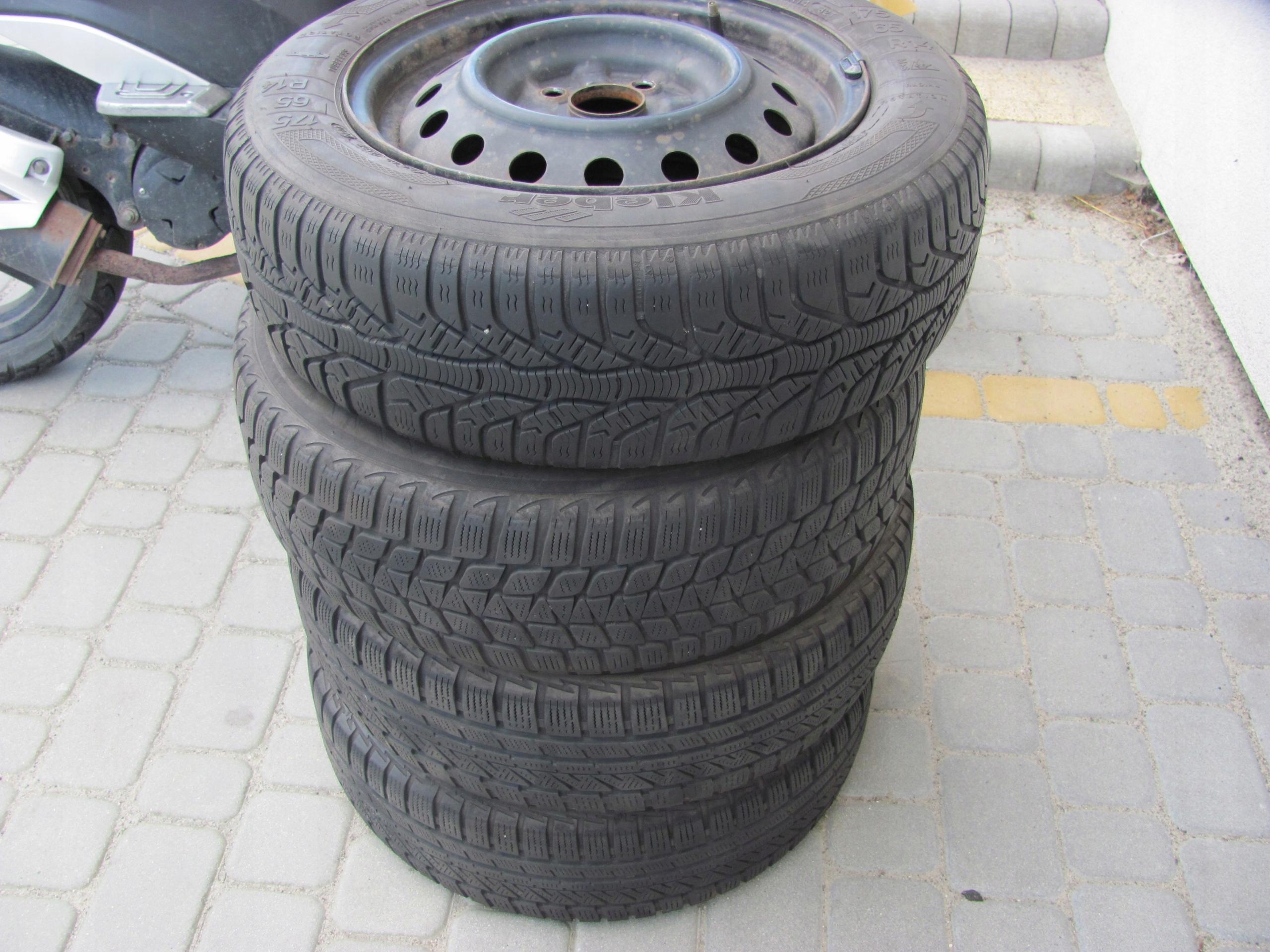 Toyota Yaris Koła Felgi Opony 1756514 7546482440 Oficjalne