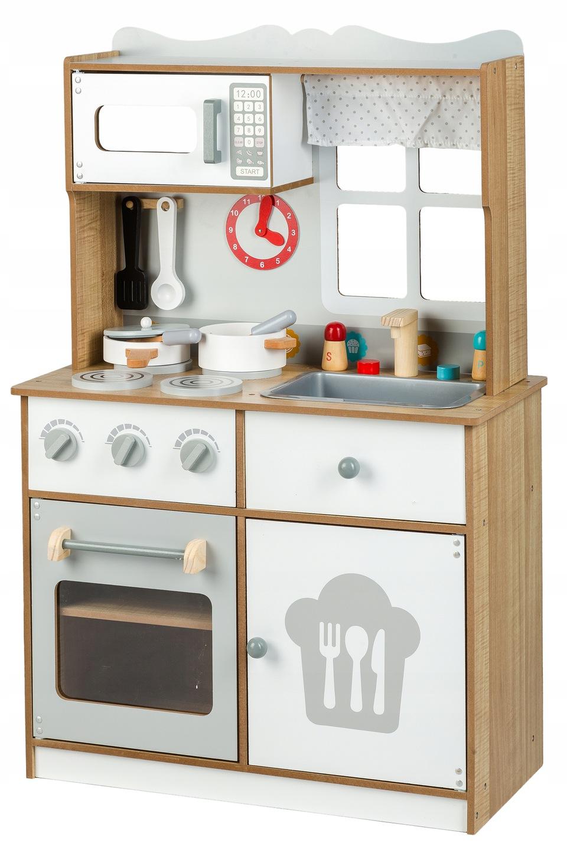 Kuchnia Kuchenka Drewniana Dla Dzieci Wyposażenie