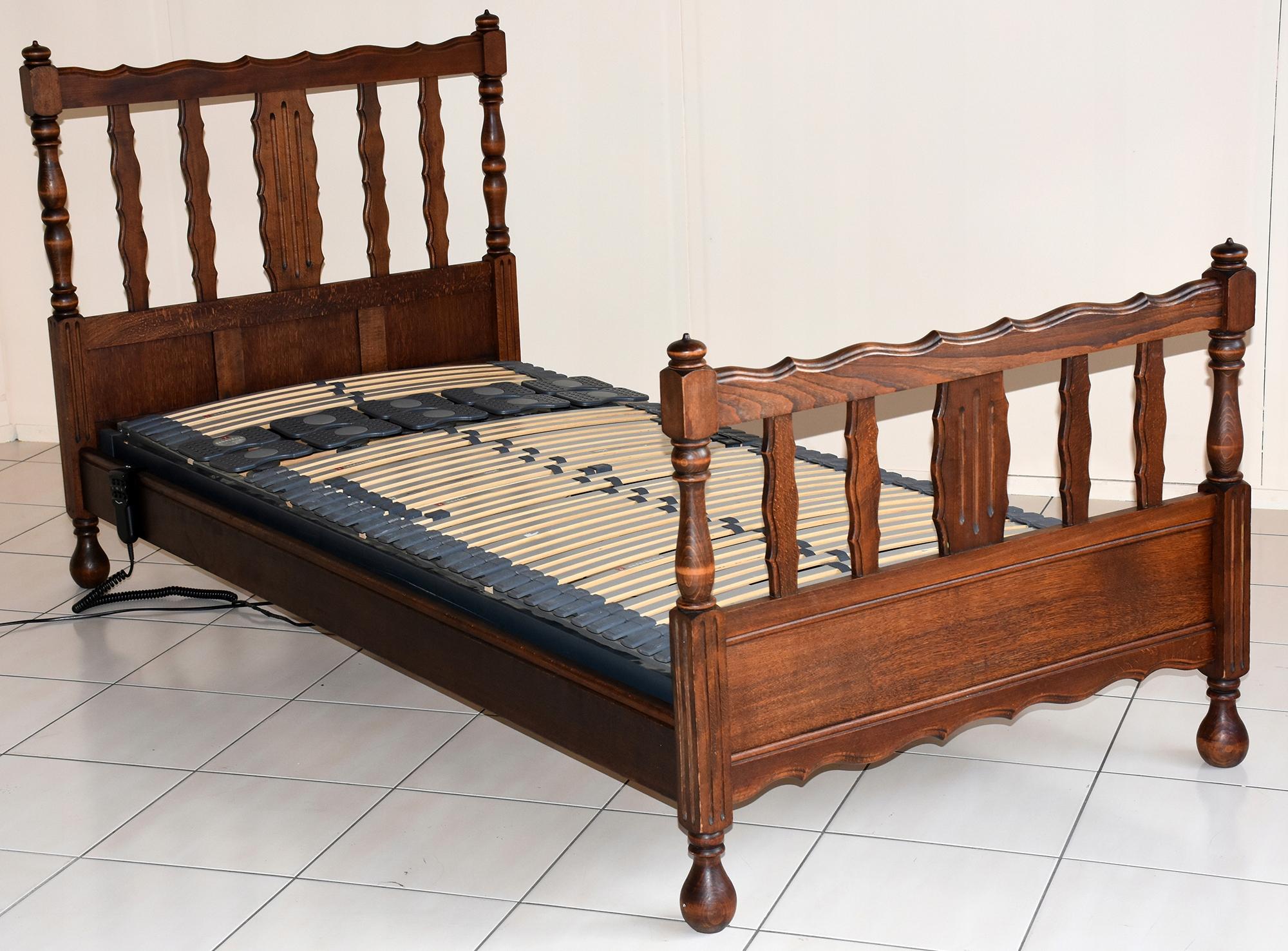 Stelaż Elektryczny 90200 Dębowa Rama łóżko 7672927021