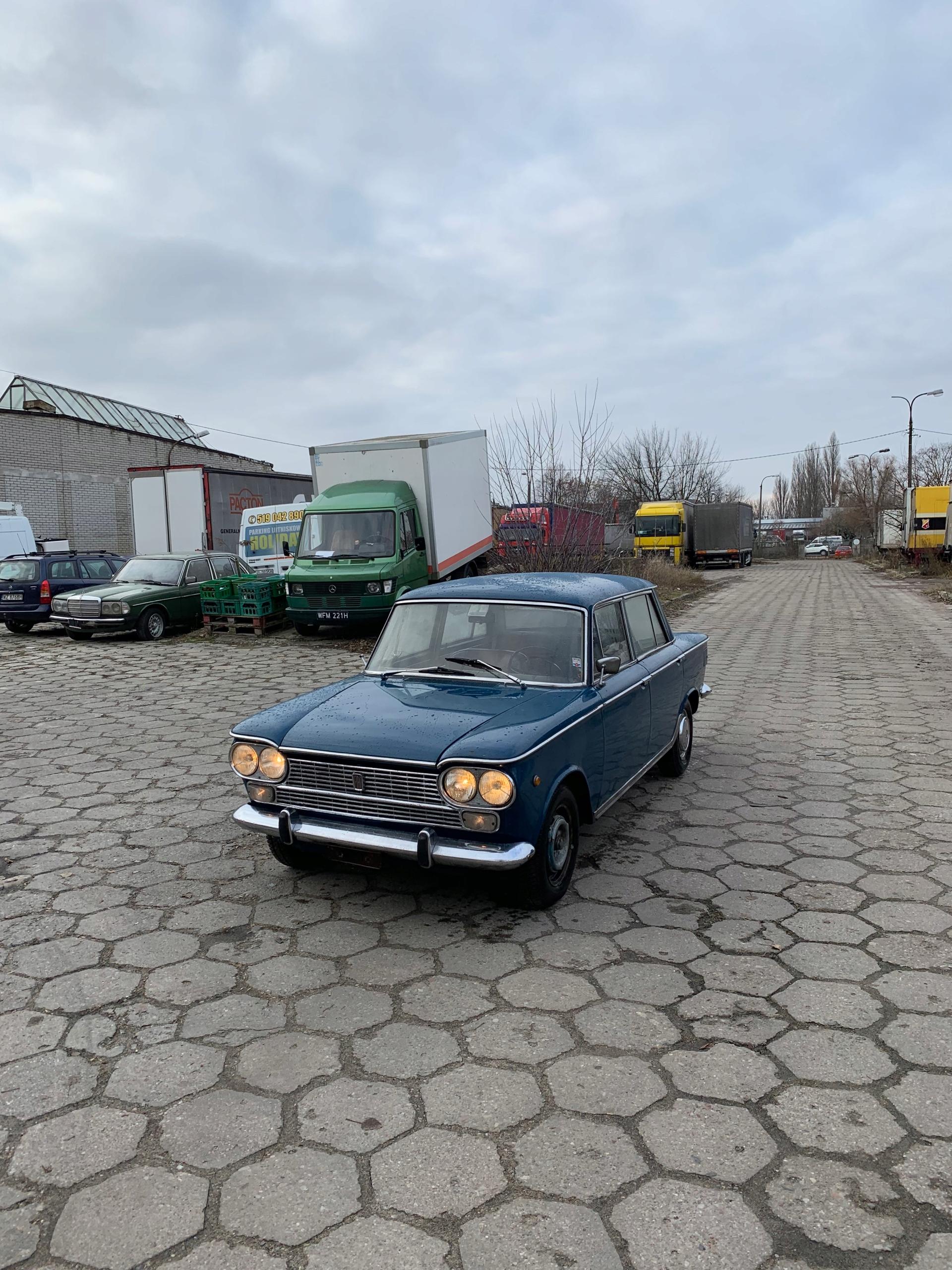 Fiat 1500 Comfort 125p Moskwicz