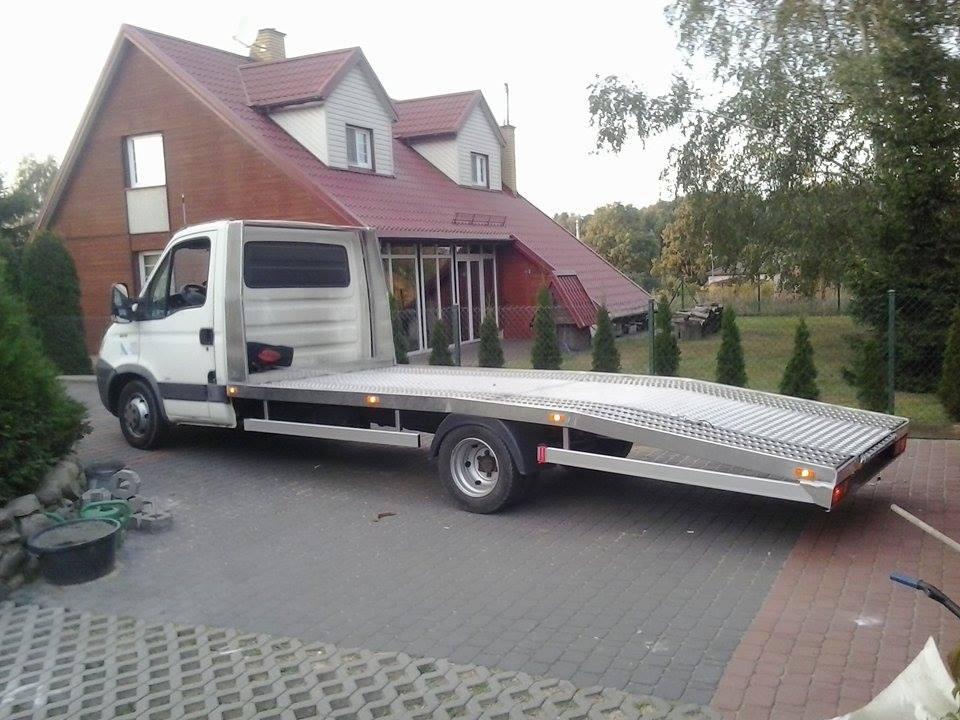 Zabudowa Lawety Laweta Aluminiowa 200kg 4 5x2 7158805587