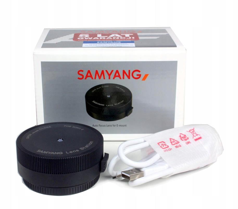 Samyang Lens Station / Sony E