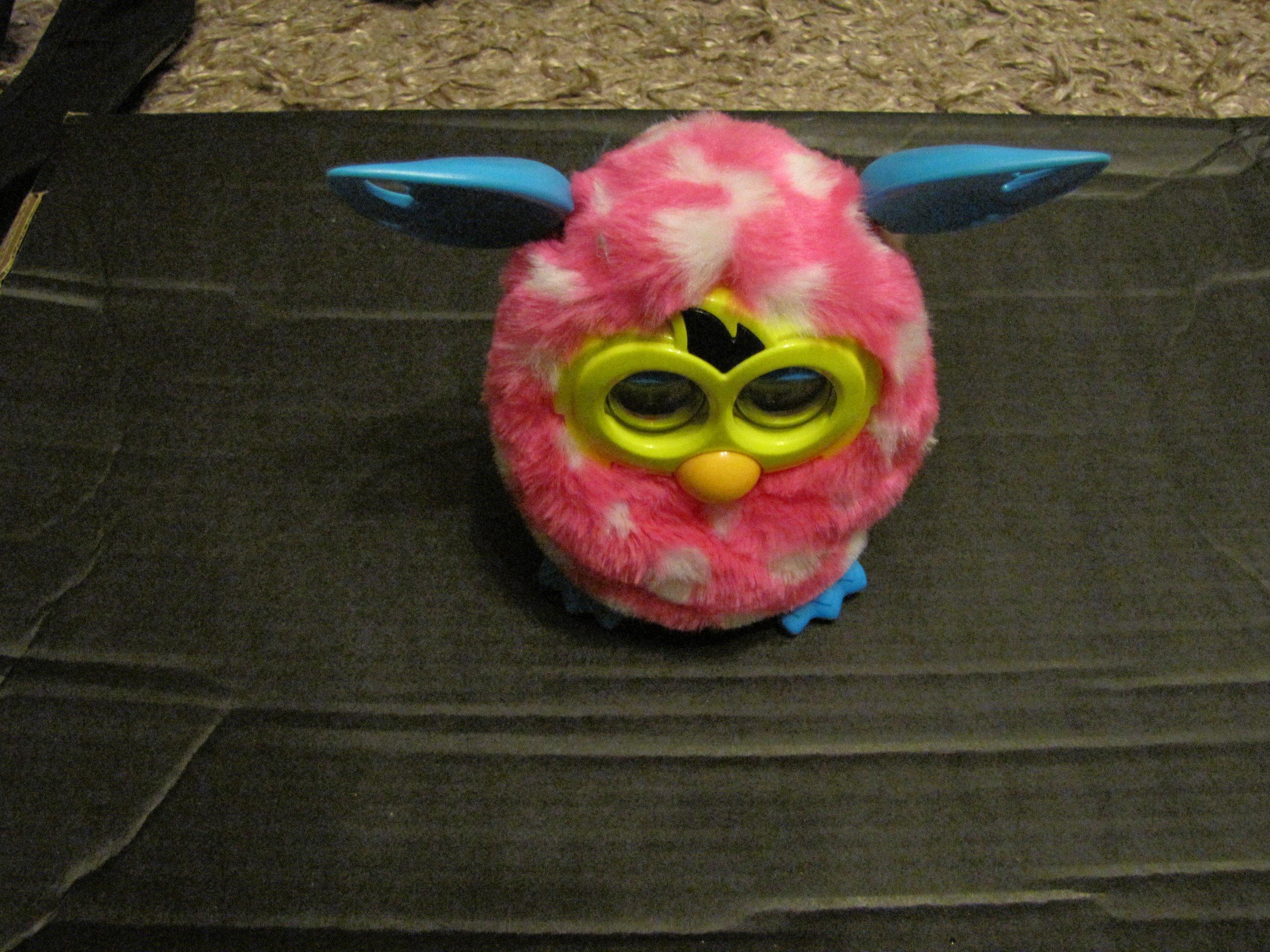 2f83d3e019 Furby BOOM HASBRO Różowy w białe groszki! - 7085578862 - oficjalne ...