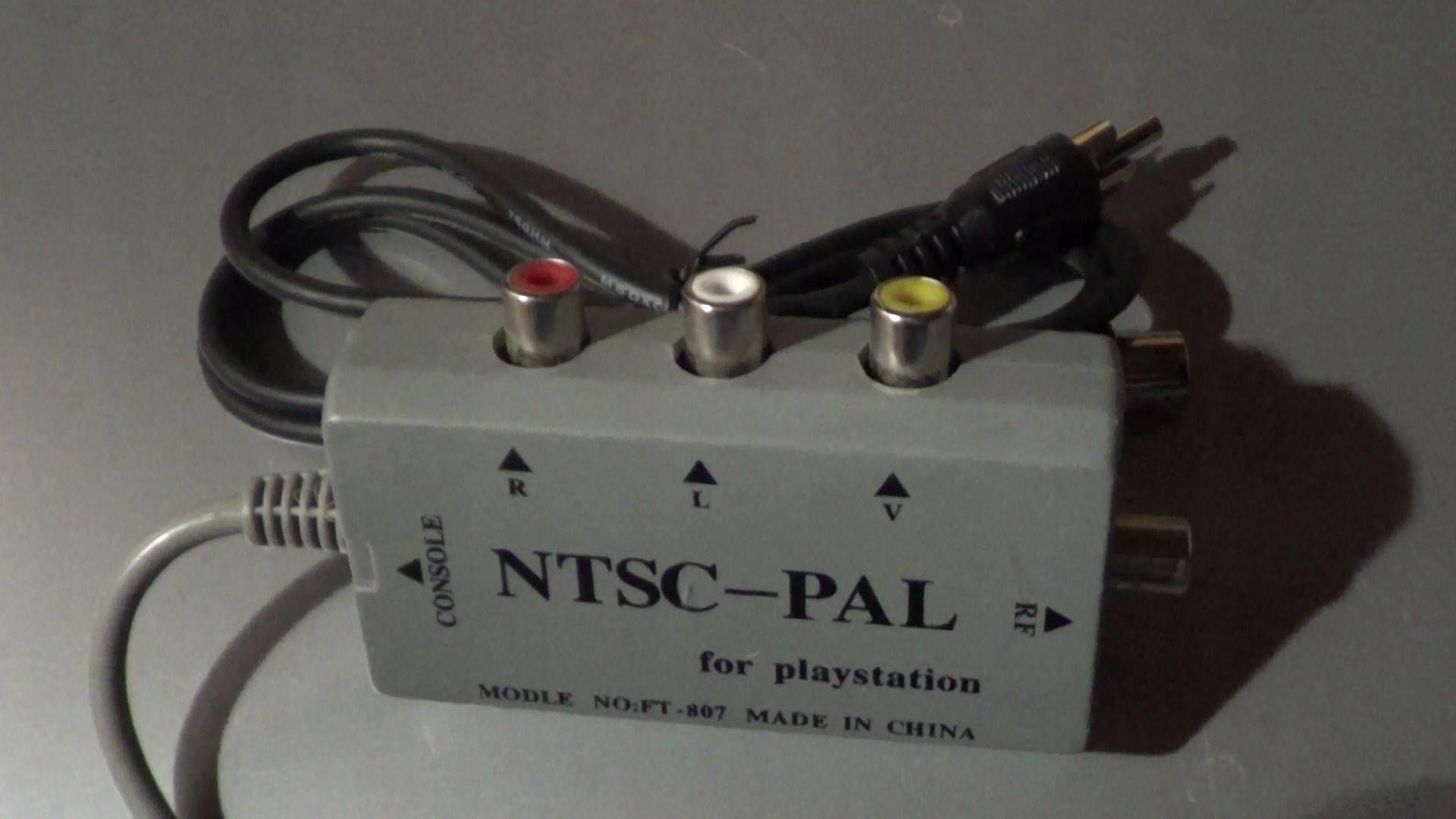 Konwerter obrazu NTSC na PAL do PlayStation 1