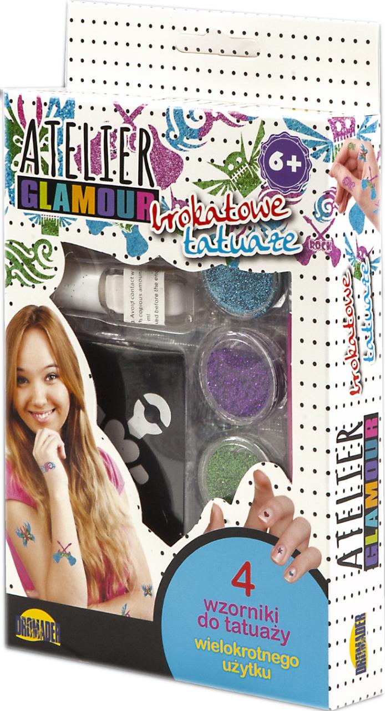 Brokatowe Tatuaże Atelier Glamour Tatuaż Zestaw 7366406638
