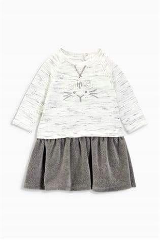 ee4bf64cbe Sukienka kotek NEXT rozm 92 cm nowa - 7517302830 - oficjalne ...