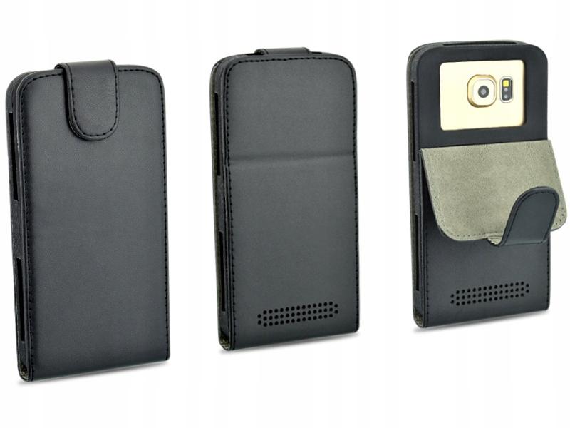 Etui czarne do telefonu Philips Xenium V377