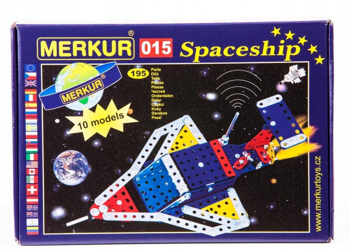 Zestaw Konstrukcyjny Statek Kosmiczny MERKUR 015