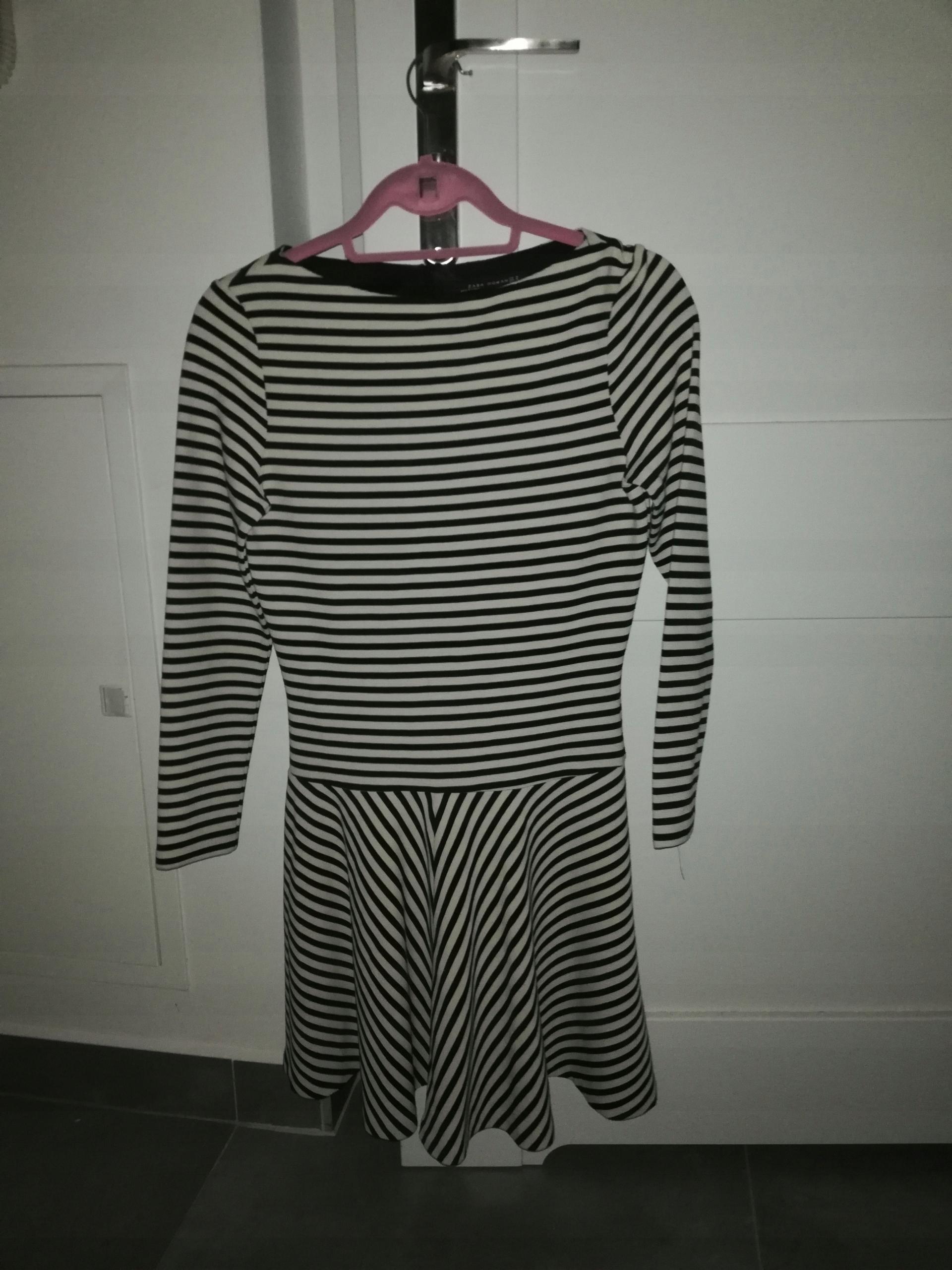 7af31d3b8f sukienka ZARA marine 38   M - 7515443952 - oficjalne archiwum allegro