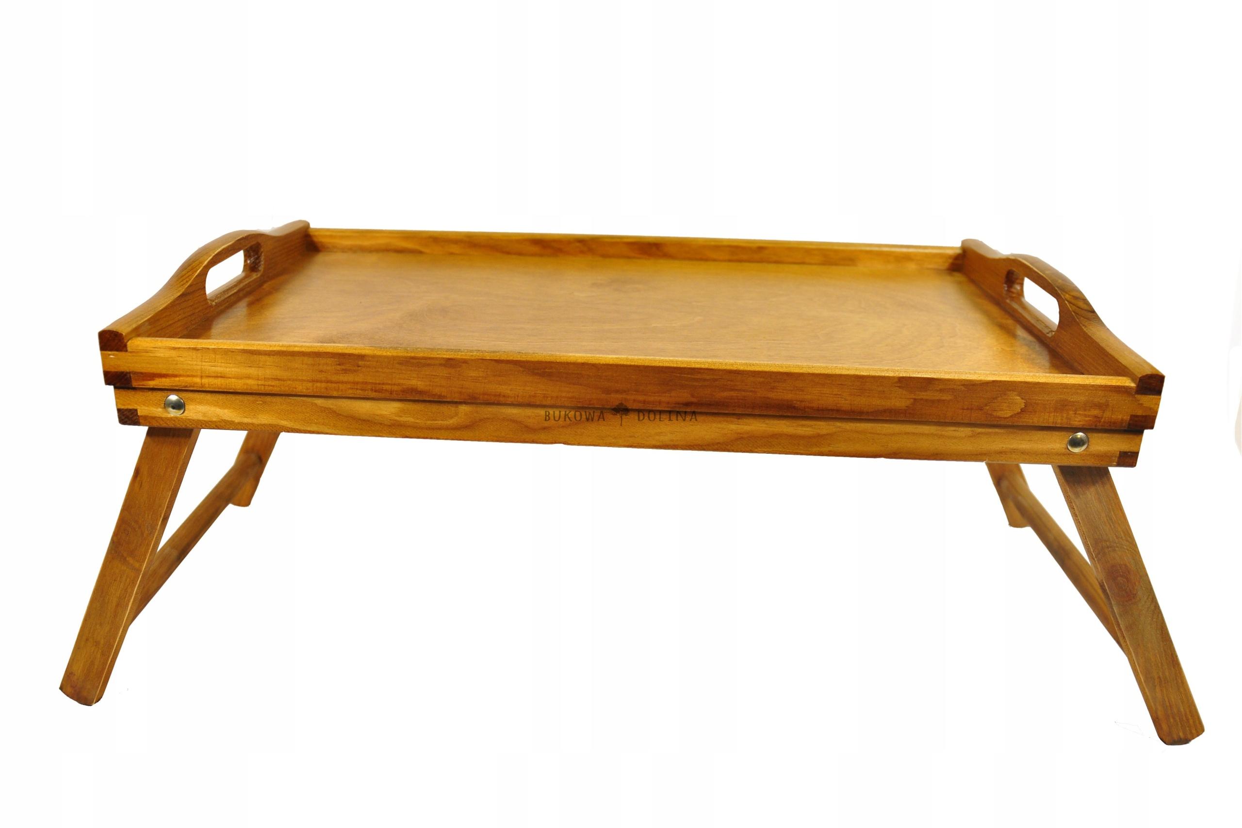 Stolik śniadaniowy Taca Do łóżka Pod Laptop Venge