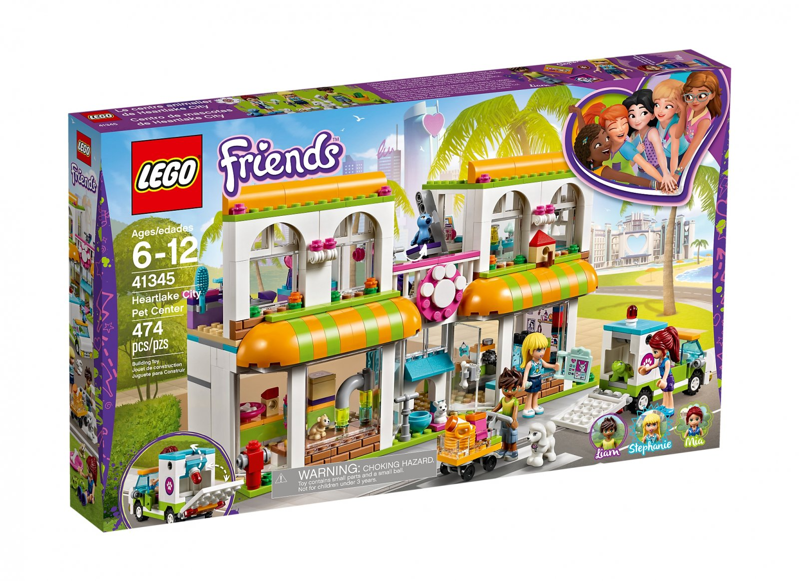 Lego Friends 41345 Centrum Zoologiczne W Heartlake 7369767035