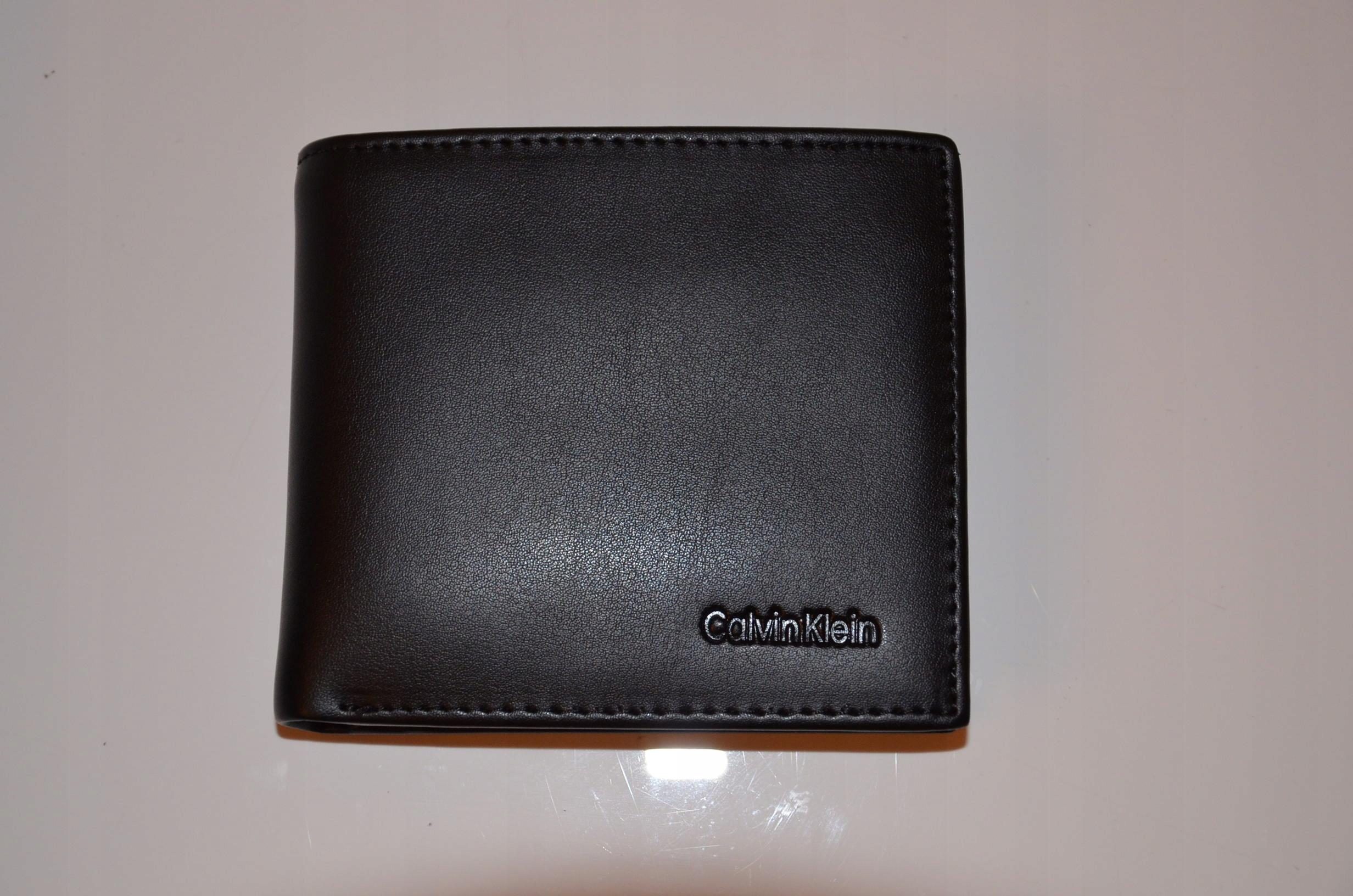 61c1235c8c4fe Męski portfel Calvin Klein brelok zestaw NOWYczerń - 7608562860 ...