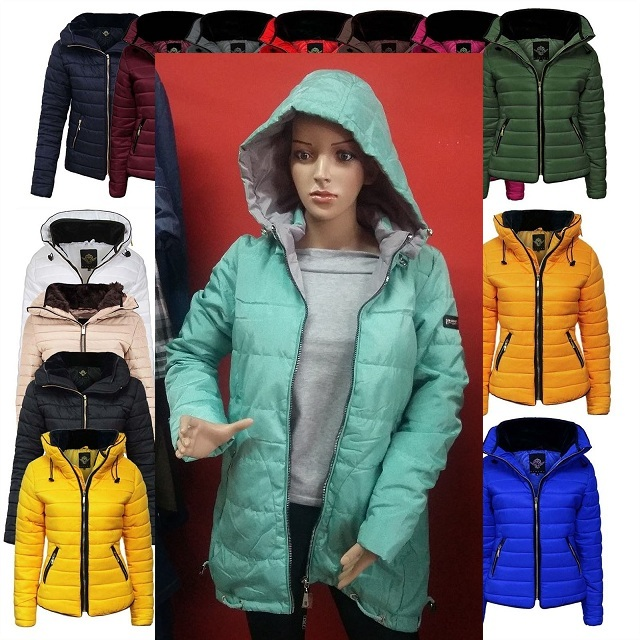 Kurtka zimowa damska Adidas rozm.40 ciepła modna Zdjęcie